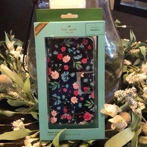 NWT iPhone X Kate Spade Phone Case